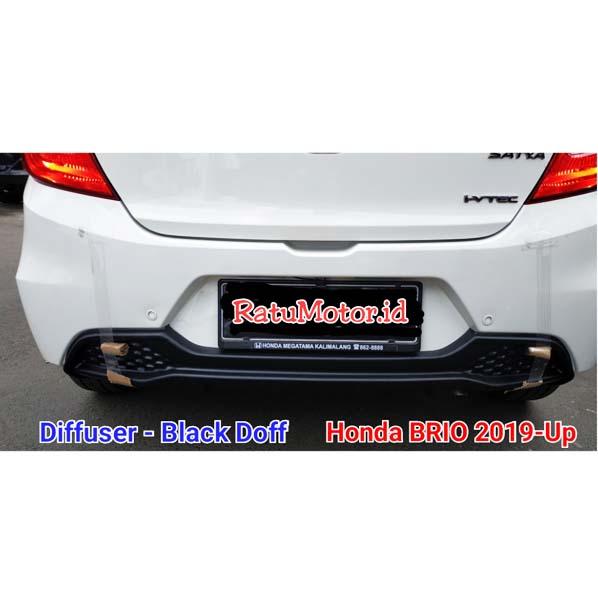 Diffuser Honda BRIO 2018-2020 Plastik ABS Black Doff