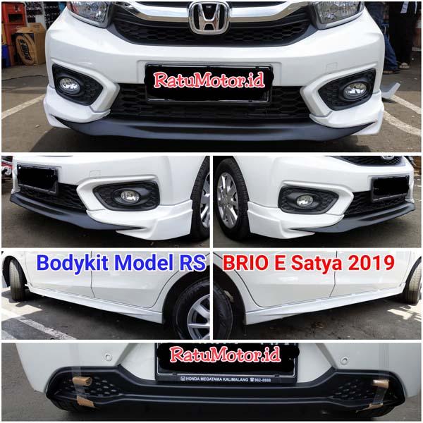 BODYKIT Model RS For Honda BRIO 2018-2020 Plastik ABS