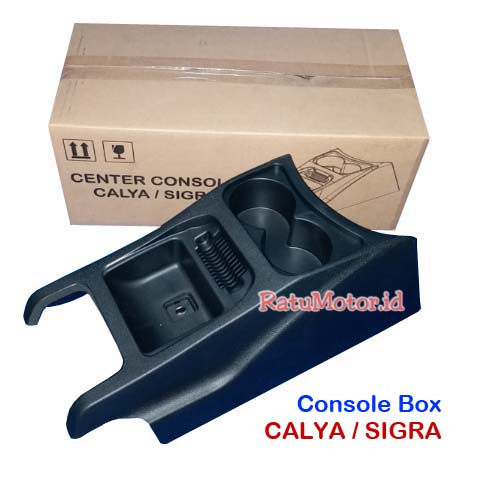 Console Box SIGRA 2016-2017 Plastik Hitam