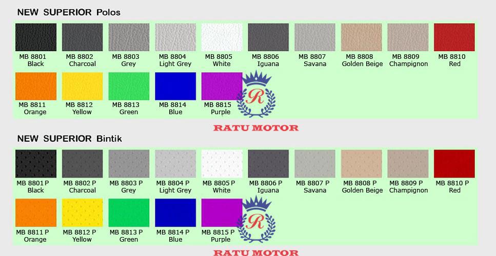 Contoh Bahan MB-Tech NEW SUPERIOR