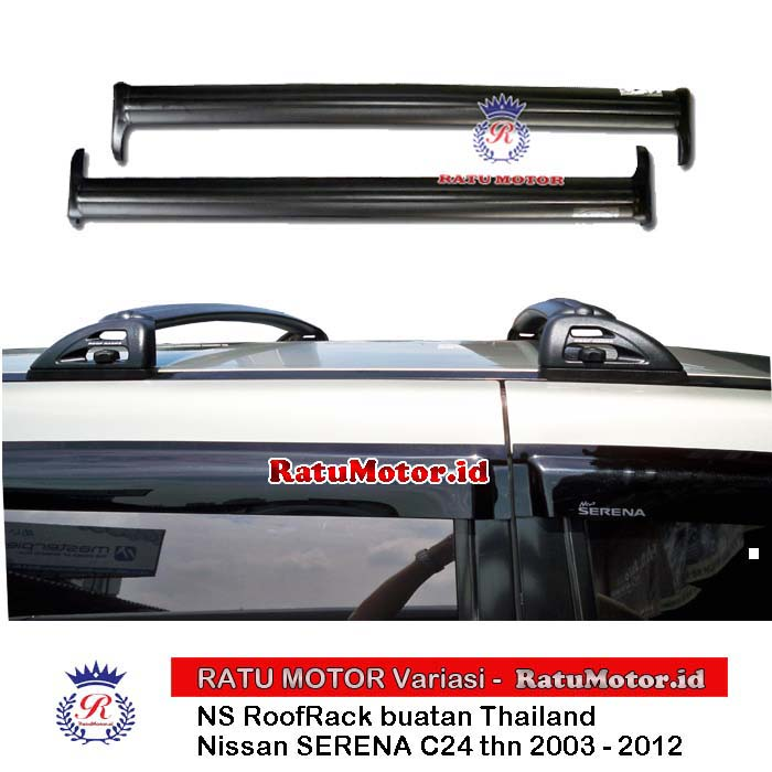 ROOF RACK (Cross Bar Fix Point) Nissan SERENA C24 2003-2013 (Thailand)