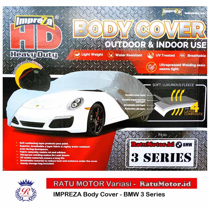Body Cover IMPREZA HD For BMW 3 Series Waterproof 4 Layers