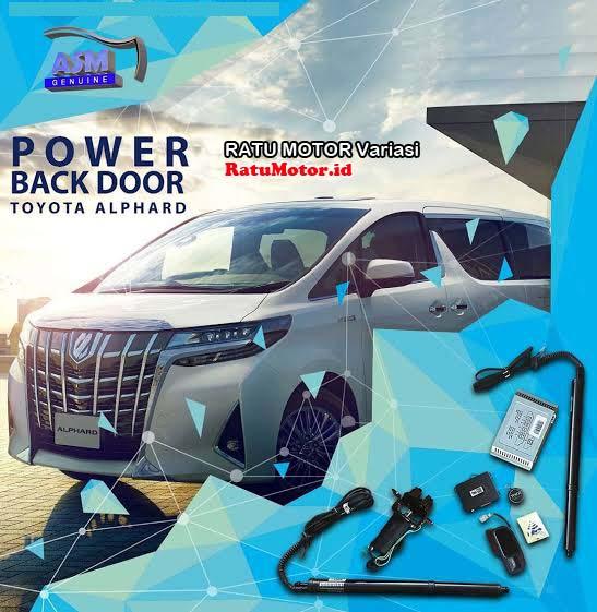 SHM Gold - Power Back Door PBD For Toyota ALPHARD 2016-2020 Type X