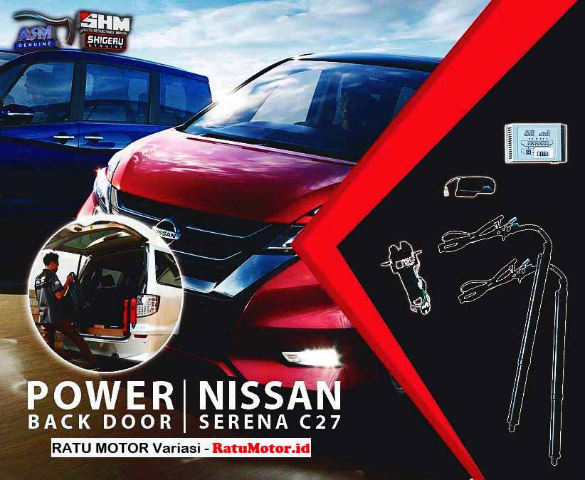 SHM Gold - Power Back Door PBD For Nissan SERENA C27 2019