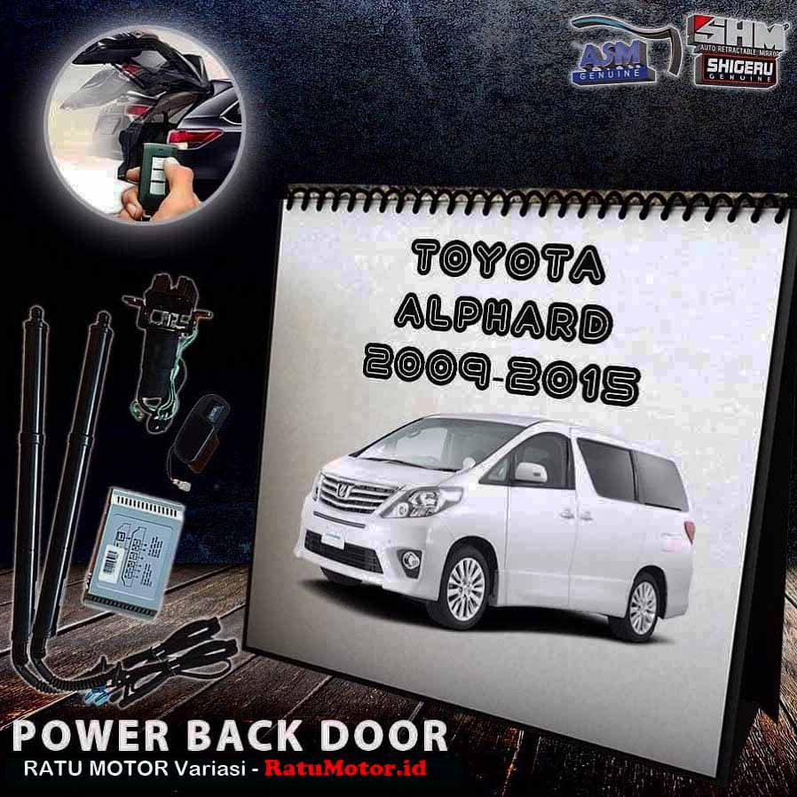 SHM Gold - Power Back Door PBD For Toyota ALPHARD 2009-2014 Type G