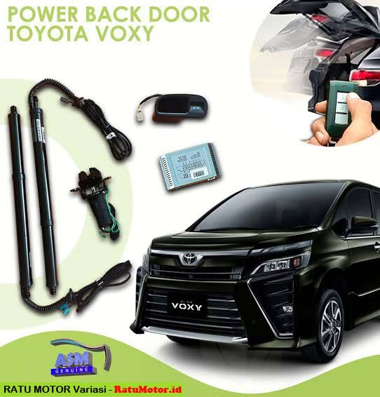 SHM Gold - Power Back Door PBD For Toyota VOXY 2017-2019