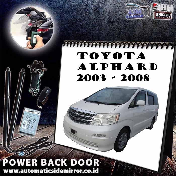 SHM Gold - Power Back Door PBD For Toyota ALPHARD 2004-2008