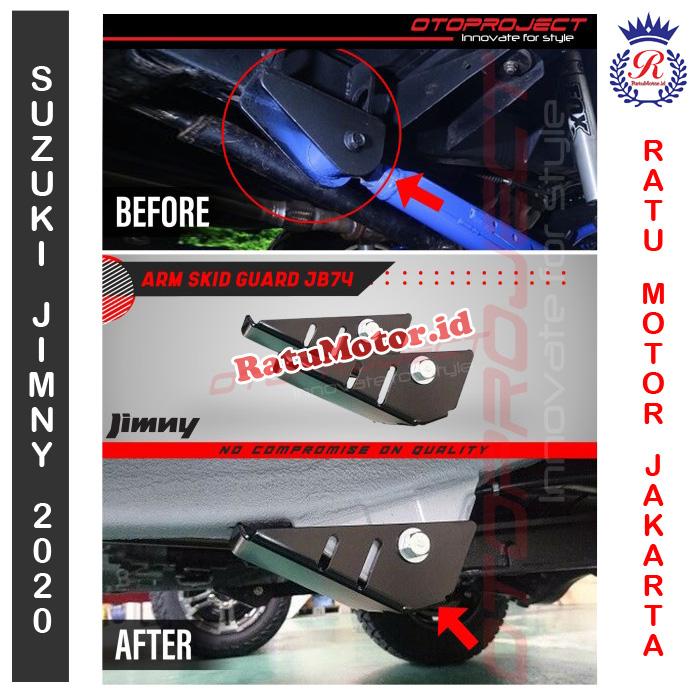 ARM SKID Guard Suzuki JIMNY JB74 2019 2020 - Pelindung Joint Arm F/R