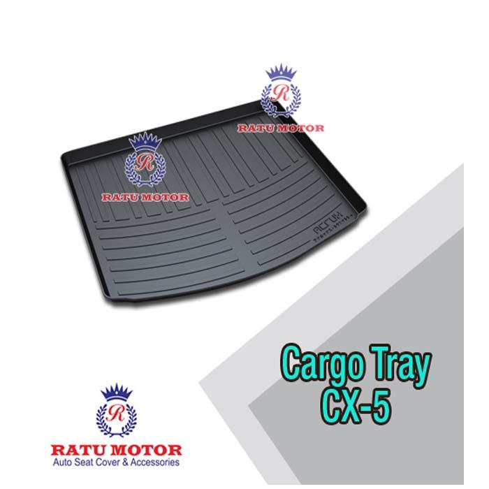 Cargo Tray (Karpet Bagasi) Mazda CX5 Hitam