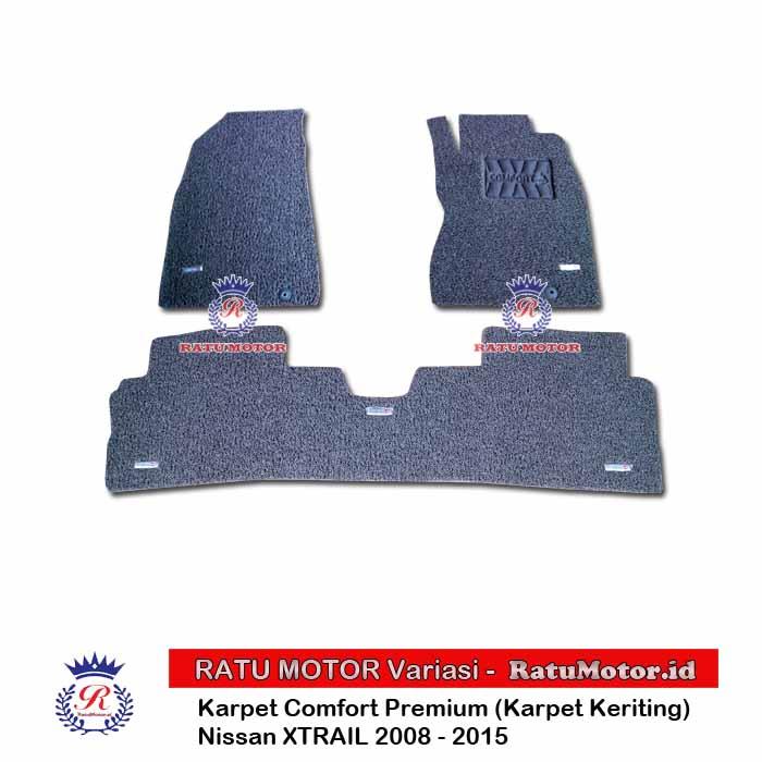 COMFORT PREMIUM Karpet Keriting  XTRAIL 2008-2013 Tanpa Bagasi