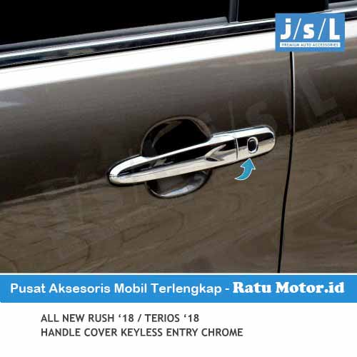 Cover Handle All New TERIOS 2018-2019 Chrome with Keyless Entry