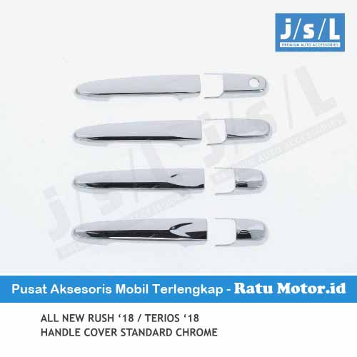Cover Handle All New TERIOS 2018-2019 Chrome w/o Keyless Entry