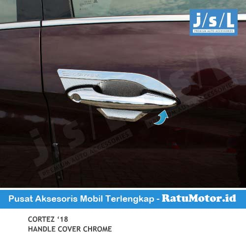 Cover Handle Wuling CORTEZ 2018-2020 Standar Chrome