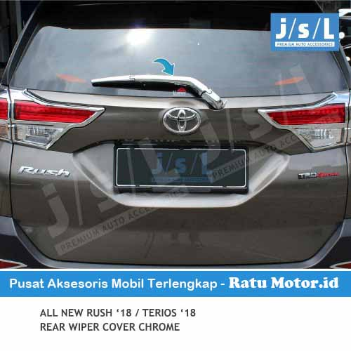 Cover Wiper Belakang All New TERIOS 2018-2019 Chrome