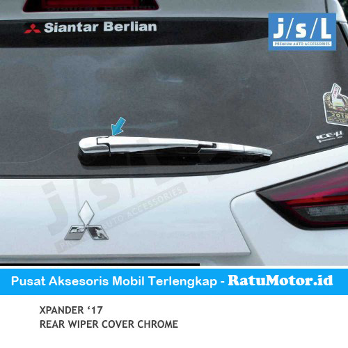 Cover Wiper Belakang XPANDER 2017 Chrome