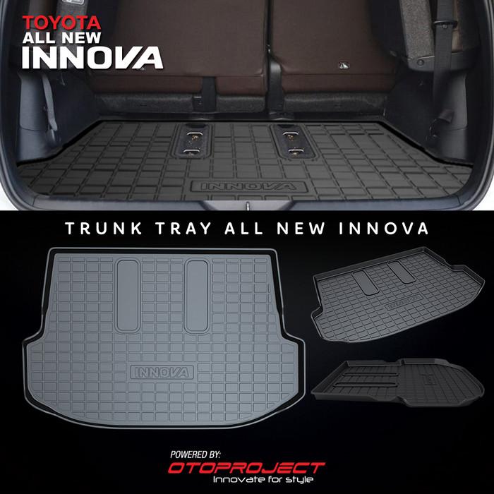 Karpet Bagasi Mobil INNOVA Reborn 2018 - TRUNK TRAY / Cargo Tray Karet