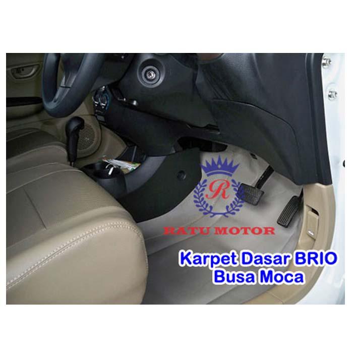 Karpet Dasar Honda BRIO Busa Moca