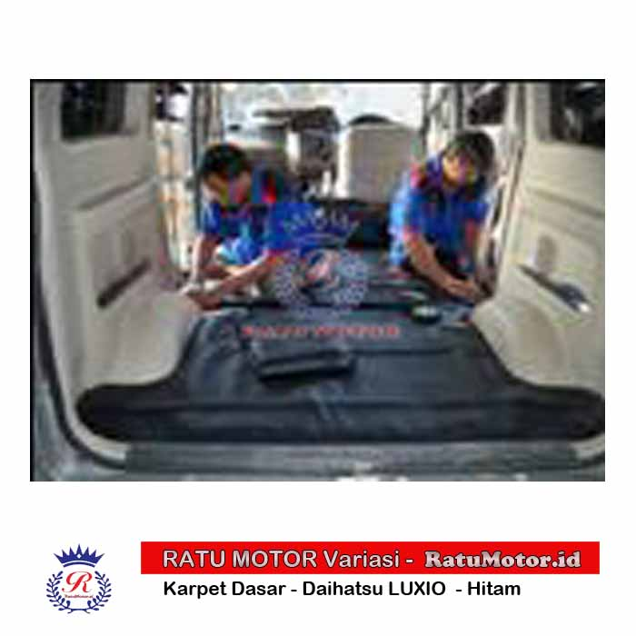Karpet Dasar Daihatsu LUXIO - Busa Hitam