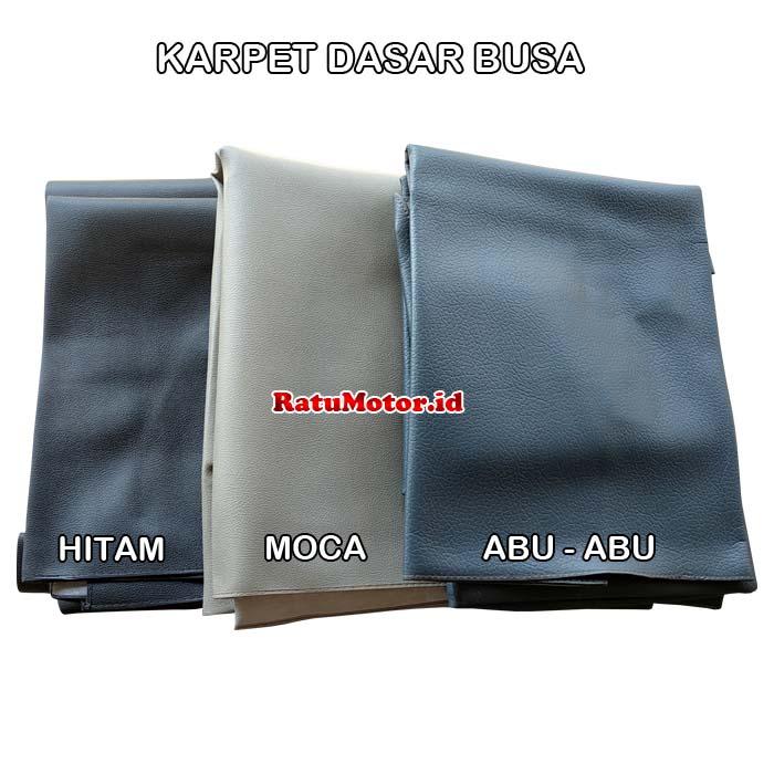 Karpet Dasar Mobil For Datsun GO Short (2 Brs) Bahan Busa