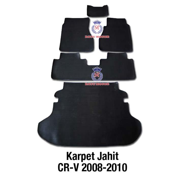 Karpet Karet Jahit All New CRV 2008-2012 Hitam