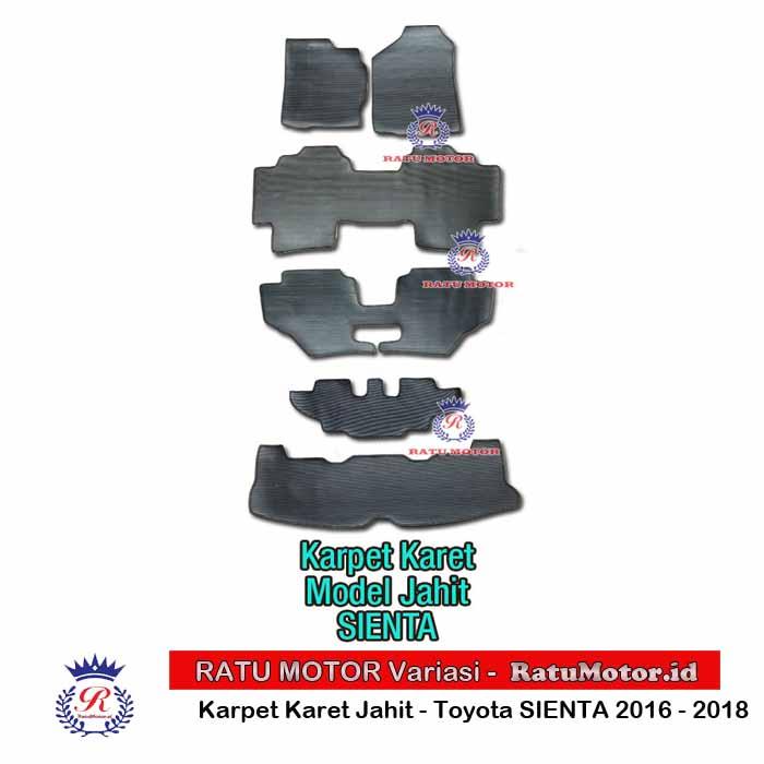 Karpet Karet Jahit All new SIENTA 2016-2018 Hitam