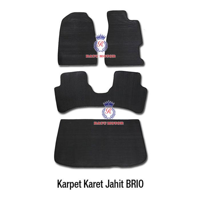 Karpet Karet Jahit BRIO 2013-2017 Hitam