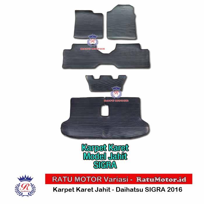 Karpet Karet Jahit SIGRA 2016-2018 Hitam