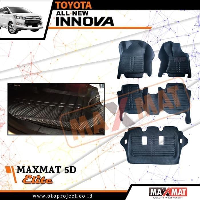 Karpet Mobil Maxmat 5D Elite INNOVA Reborn 2018- Karpet Mangkok