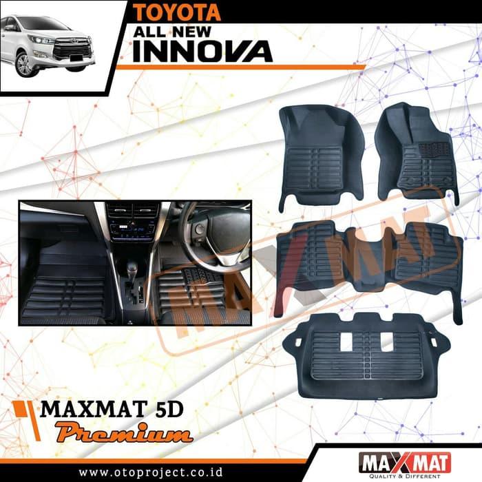 Karpet Mobil Maxmat 5D Premium INNOVA Reborn 2018 - Karpet Mangkok