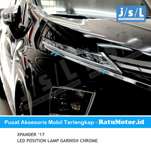 List LED Depan / LED Position Mitsubishi XPANDER 2018 Chrome