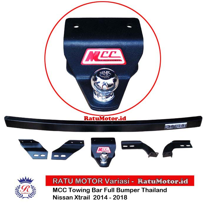 MCC Towing Bar Full Bumper Nissan XTRAIL 2014 - 2018 Thailand