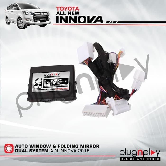 Modul DUAL Auto Window INNOVA Reborn 2018 With Folding Mirror PlugnPlay