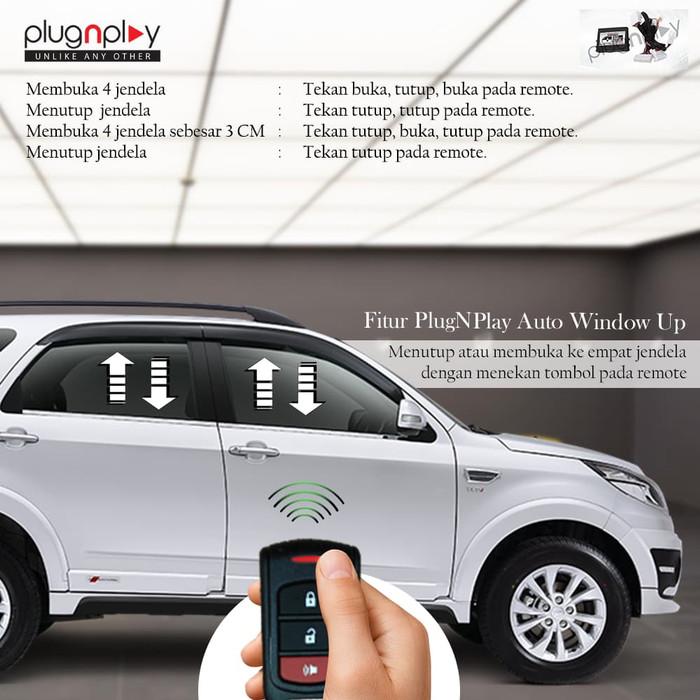 Modul AUTO WINDOW System RUSH 2019 - Kaca Jendela Otomatis PlugnPlay