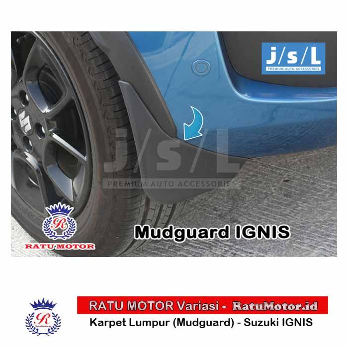 Mud Guard (Karpet Lumpur) Suzuki IGNIS 2017