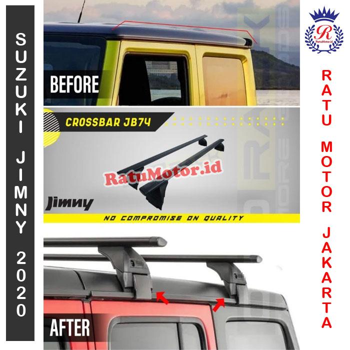 OTORACK Cross Bar Khusus Suzuki JIMNY 2019 JB74 - RoofRack CrossBar