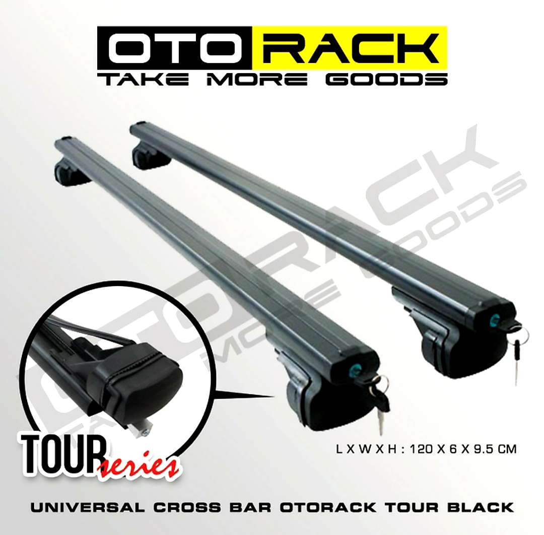 OTORACK Cross Bar Tipe TOUR Universal RoofRack CrossBar For RoofBox