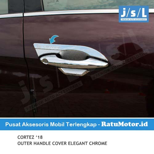 Outer Handle Wuling CORTEZ 2018-2020 Model Elegant Chrome