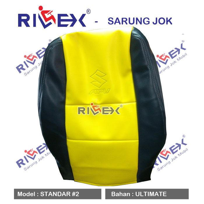 RILEX Ultimate - Sarung Jok Mobil Suzuki APV Minibus model Standar (1 & 2 warna) - Bisa Pilih Warna
