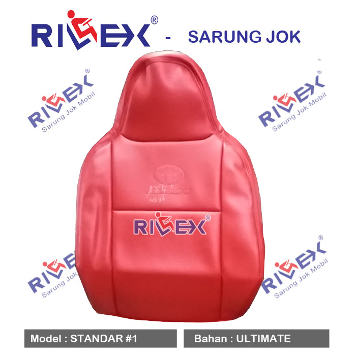 RILEX Ultimate - Sarung Jok Mobil Datsun GO (2 Brs) model Standar (1 & 2 warna) - Bisa Pilih Warna
