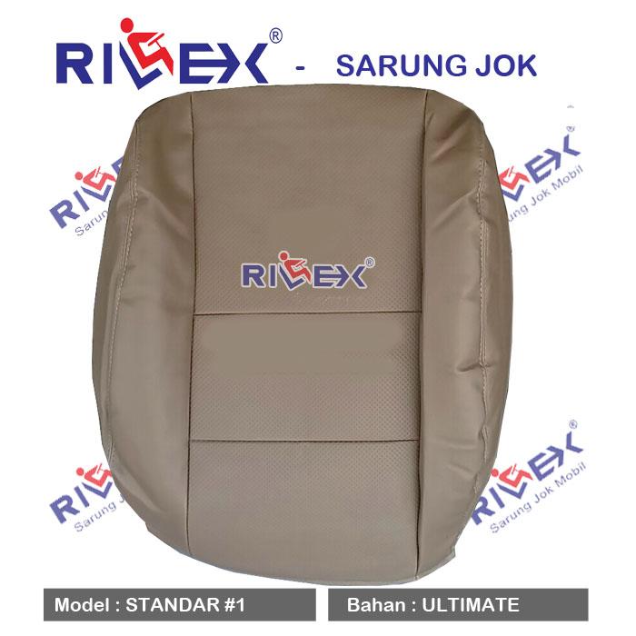 RILEX Ultimate - Sarung Jok Mobil Suzuki IGNIS model Standar (1 & 2 warna) - Bisa Pilih Warna
