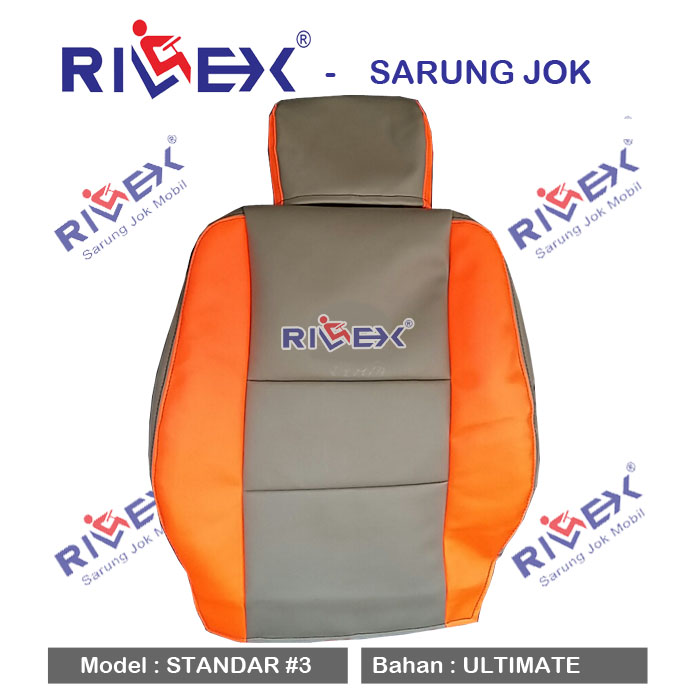RILEX Ultimate - Sarung Jok Mobil Daihatsu LUXIO model Standar (1 & 2 warna) - Bisa Pilih Warna
