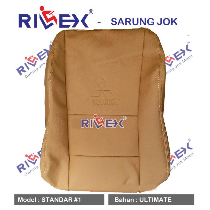 RILEX Ultimate - Sarung Jok Mobil Mits XPANDER model Standar (1 & 2 warna) - Bisa Pilih Warna