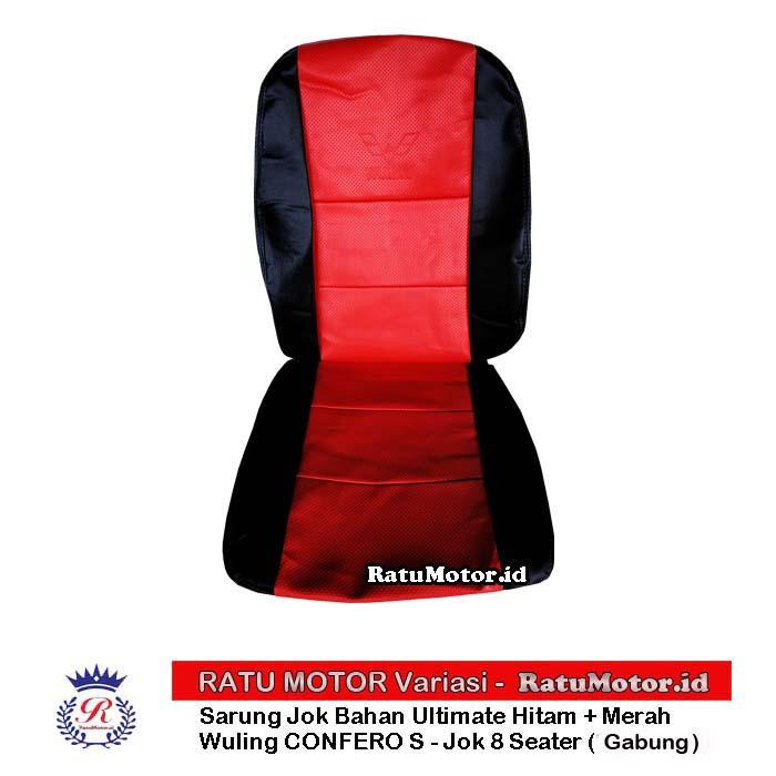 RILEX Ultimate - Sarung Jok Wuling CONFERO standar - 8 Seater (Gabung)