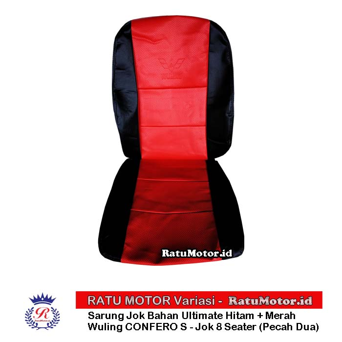 RILEX Ultimate - Sarung Jok Wuling CONFERO S - 8 Seater (Pecah Dua)