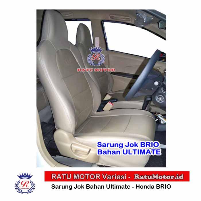 RILEX Ultimate - Sarung Jok BRIO 2013-2020 Bahan Semi Kulit