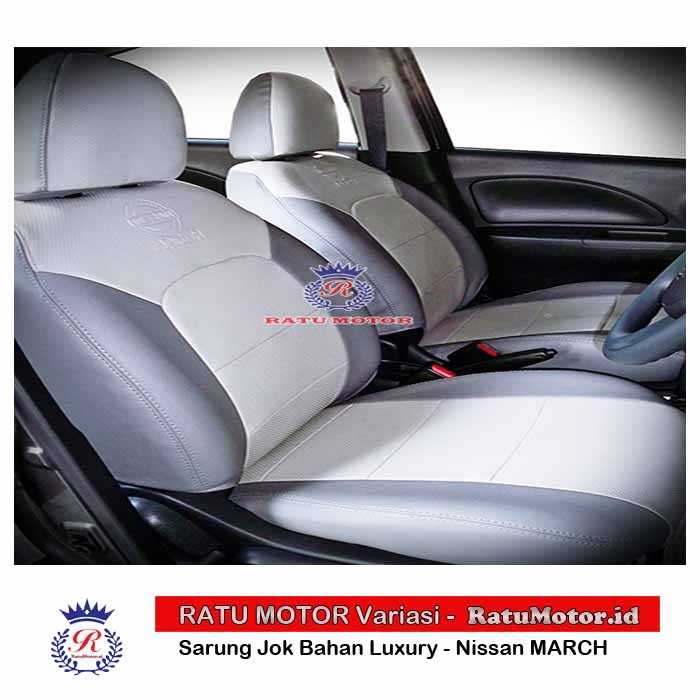 Sarung Jok Nissan MARCH Bahan Luxury