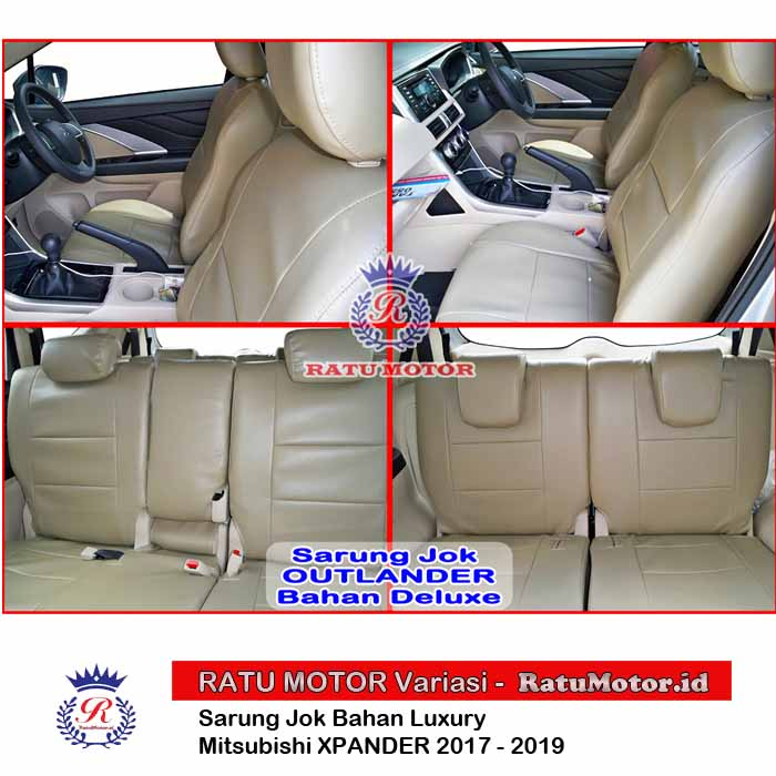 Sarung Jok XPANDER 2017-2019 Bahan Luxury (Warna Request)