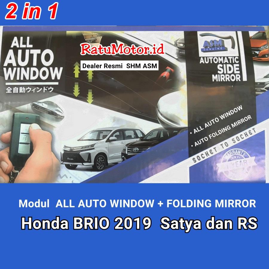 SHM Modul 2in1 ALL POWER WINDOW + SPION Otomatis Honda BRIO RS 2019