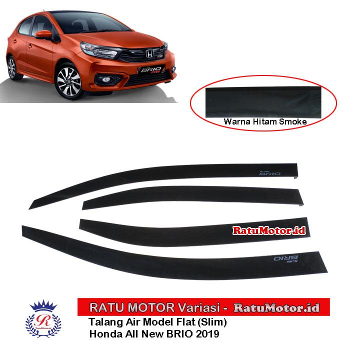 Talang Air Model Flat (Super Slim) Honda All New BRIO 2019-2020