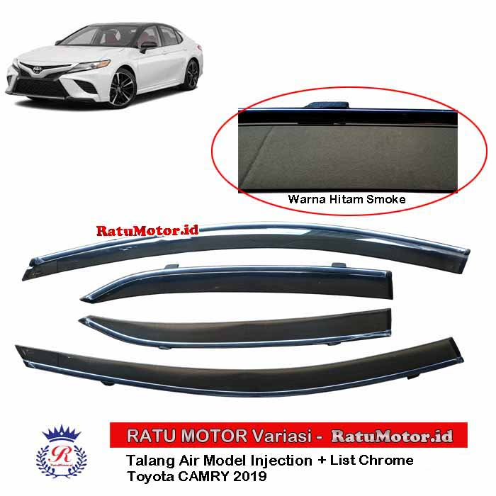 Talang Air Toyota CAMRY 2019-2020 Model Injection + List Chrome